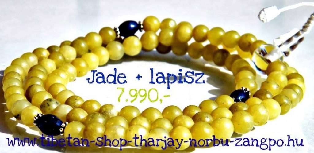 Jade mala  | Fotó: (c) Tibetan Shop Tharjay Norbu Zangpo